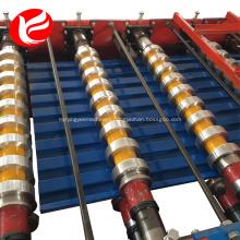 Garage roller shutter door roll forming machine