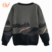 Knitting Jacquard And Embroidery Patterns Sweater