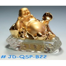 Crystal Buddhist Air Perfume Bottle (jd-qsp-b22)