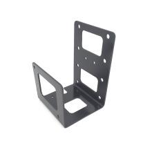 CNC que faz à máquina o suporte de montagem completo do metal da peça de impressora 3D