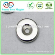 29mmx4mm ronde aimant de terre rare néodyme de disque