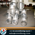 stainless steel TP316L equal tee