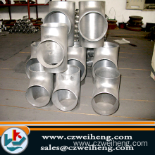 Stainless steel welded cross Tee Fittings