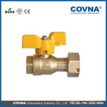 OEM venda quente fabricante lpg gás natural válvula de esfera de bronze preço