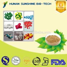 Capsules d'extrait de grain de café vert d'alibaba en gros acide chlorogénique pour le poids de perte et la fonction de force de construction
