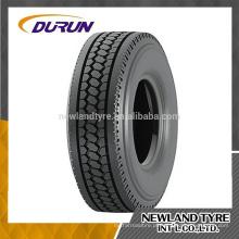 Top qualidade YTH6 padrão Durun Truck pneu 11R22.5