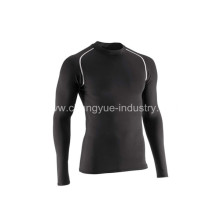 long sleeves mens tights and jerseys for basketball training sports