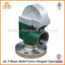 JA-3 Flange thread connection Shear pin relief valve