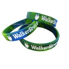Gravierte Silikon-Armbänder für Werbeartikel