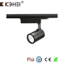 25W comercial 3000K 4 hilos LED tracklight ajustable
