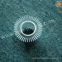 Aluminum alloy die-casting round aluminum heatsink