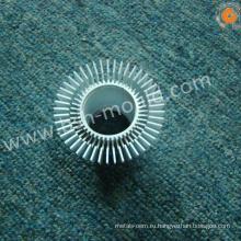 Алюминиевый сплав литья под давлением круглый алюминиевый радиатор