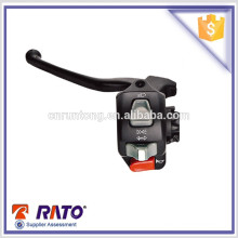 Motorcycle three function switch with lever