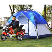 3-4 personnes camping tente de randonnée multijoueur en plein air automatique