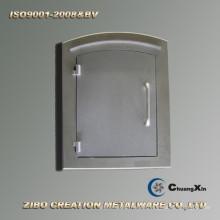 Puerta del buzón de fundición a presión de aluminio