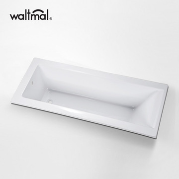 Square Bathtub Drop-in Thermaform di Acrylic