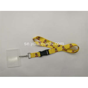 Promotional Polyester Badge Holder Snodd