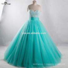 RSE944 Vestidos De Novia 2016 Long Sweet 16 Dresses Mint Green Quinceanera Dresses