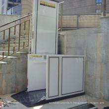 Ascenseur sans barrière homologué CE vertical bas prix