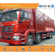 SHACMAN F3000 8X4 fence cargo truck low price