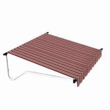 Awning and Outdoor Furniture, Made of Fiberglass with Acrylic Coating Sheet/Steel Bracket