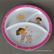 Melamine Plate with Art - 14pm02525