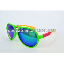 DOUBLE-BLUE lense sunglass fashion sell 2014