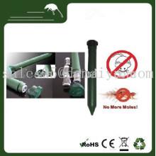Зеленый Солнечной Соник электронные на батарейках Крот вредителями мышь отпугиватель для звука и вибрации