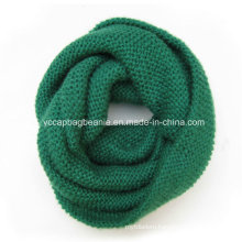 Lady Fashion Acrylic Knitted Infinity Scarf