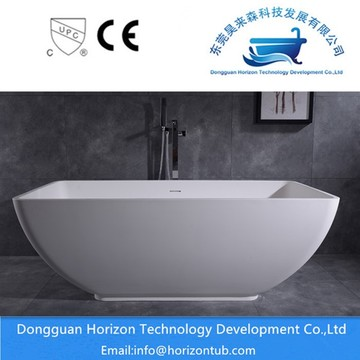 Artificial stone solid surface bath