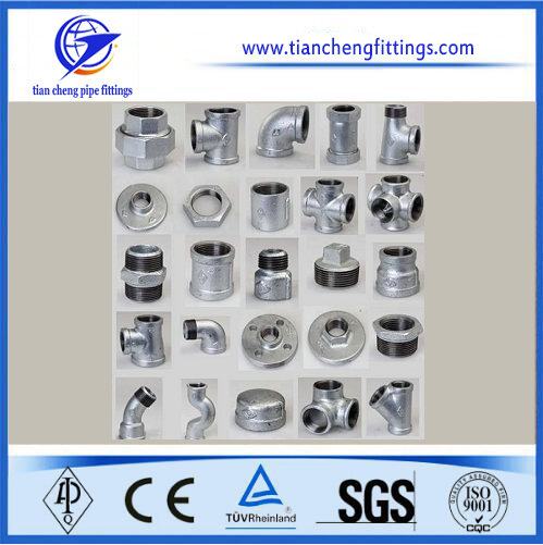 Galvanized Malleable Cast Fittings