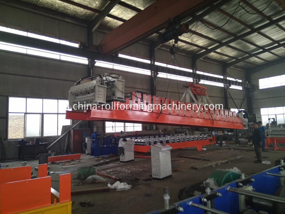 Export Double Layer Roll Forming Machine