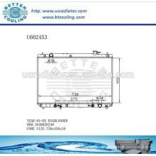 Radiador Para TOYOTA HIGHLANDER 01-05 Aluminio 1640028240 Fabricante y Venta Directa