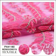 Новое прибытие дизайнер мягкий водорастворимый индийский вышивка кружева ткань