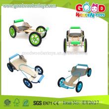 Los juguetes de madera más populares del kart de los niños de 4 ruedas en China