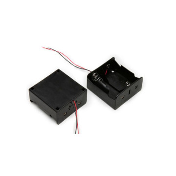 FBCB1156 support de batterie noir squire de 71 mm