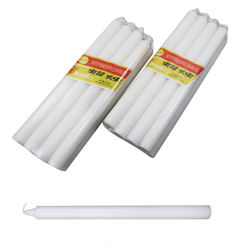 Aoyin White Color Candle