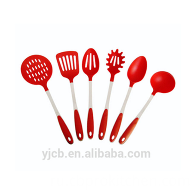 Red Nylon Utensils Set