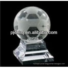 Unique personalized crystal ball for souvenir