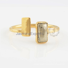 925 Sterling Silver Ring Wholesale Of Pyrite Gemstone Silver Ring