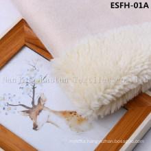 Plain Col Suede Bonded Faux Fur Esfh-01A