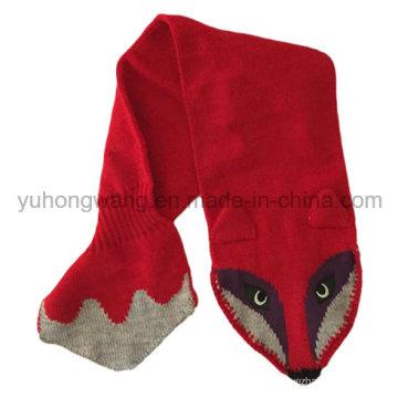 Мода ручной работы акриловые трикотажные шарфы вязания крючком, шарф