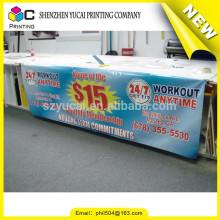 Diseño de moda Impresión digital China de PVC fabricación de banner de publicidad al aire libre