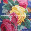 Print Cotton Blend Linen Fabric for Garment/Curtain/Upholstery