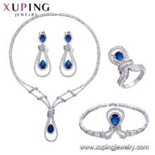 Set-59 xuping bijoux fantaisie, la Chine en gros Ensemble de luxe plaqué rhodium