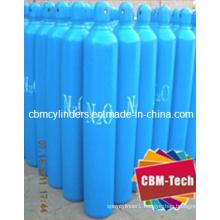 Refillable Steel Oxygen Nitrogen Cylinders 3.4L