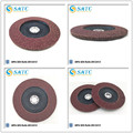 disco de flap de polimento de alto desempenho com apoio de fibra de vidro