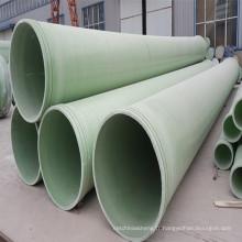 Application industrielle et traitement de surface lisse Conduite en PRV / PRV