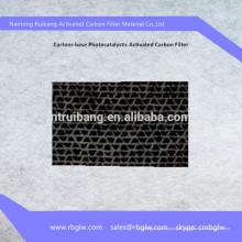 Filtre de papier carbone activé