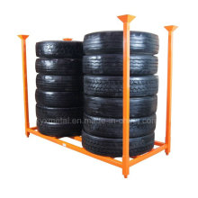 """92"""" X 40"""" Truck Tire Stackable Storage Rack for TBR"""